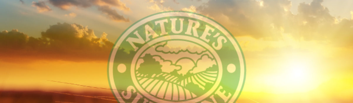 Why I Use Nature's Sunshine